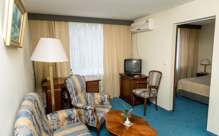 Полу-люкс 2-комнатный, 1-местный